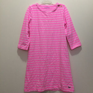 Vineyard Vines Girl's Long Sleeve Dress